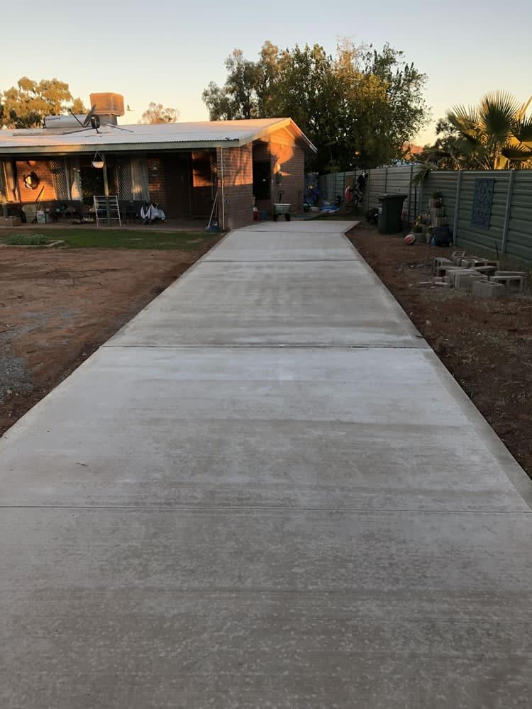 Concrete Path